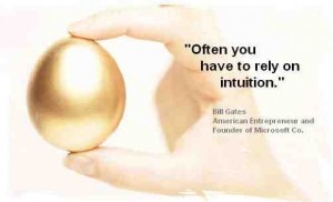 intuition is the key to an aligned business