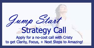 Cristy Nix, CristyNix.com ~ Marketing + Intuitive Business Coach for Women Entrepreneurs!