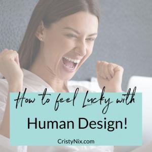 Human Design Cristy Nix