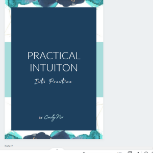 Practical Intuition eBook by Cristy Nix