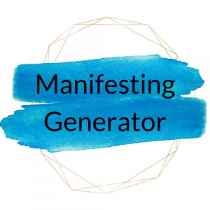 Manifesting generator btn